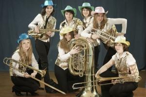 Женский духовой оркестр